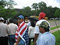 A Day Without Immigrants - Man wearing American flag.jpg