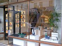 A Front Shopping Window of an Art Glass Shop in High Street Armadale.jpg