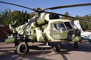 Iranian Police Aviation - Image: A Mi 171SH of Police of Iran