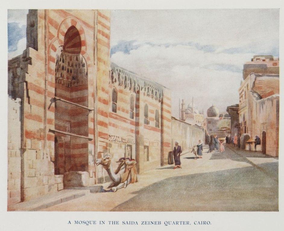 Px A Mosque In The Saida Zeineb Quarter C Cairo Timea