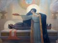 A Pátria coroando de louros o Soldado Português morto na Grande Guerra (1923) - Veloso Salgado (Museu Militar de Lisboa).png