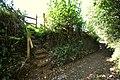 A footpath leaving Hawcombe Lane - geograph.org.uk - 2107731.jpg