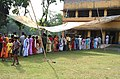 A good turnout at a polling station at a Higher Secondary School, Fathepur, Haringhata, Nadia in West Bengal for second phase of polling for the State Assembly Elections.jpg
