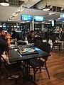 A leisurely dinner before boarding the flight to Baku (36672169500).jpg