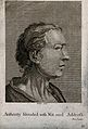 A man whose face expresses (according to the study of Physio Wellcome V0009309EC.jpg