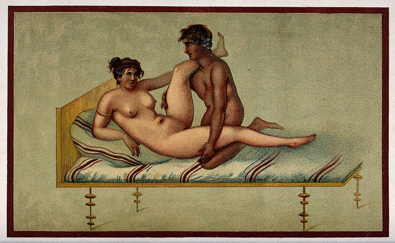 A man and a woman alphabet of two nudes 10