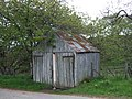 A shed by the Crathie Burn - geograph.org.uk - 443434.jpg