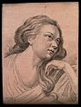 A woman, the physiognomy of whom expresses attention excited Wellcome V0009217EL.jpg