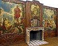 Aachen room for Johann of Wespien, architect Johann Josef Couven, Gobelins by Franz and Peter van der Borcht, 1734-1742, oak, marble, tapestries - Germanisches Nationalmuseum - Nuremberg, Germany - DSC02733a.jpg