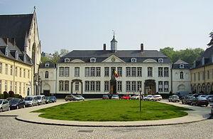 Ixelles - Image: Abb.de la Cambre, palais abbatial