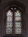 Abbess Roding - St Edmund's Church - Essex England - chancel stained glass window.jpg