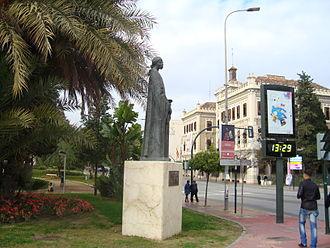 Abd al-Rahman II - Statue of Abd ar-Rahman II in Murcia, Spain