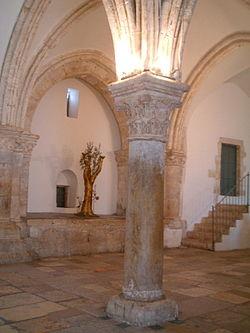 יוסי ביילין ליברמן שמעון פרס ונתניהו ניסו להעביר את מתחם קבר דוד לידי הוותיקן ולידי הכניסיה היוונית לכאורה 250px-Abendmahlssaal