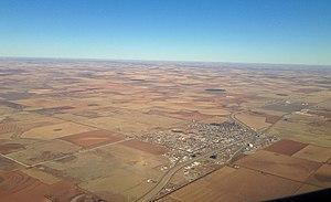 Abernathy, Texas - Abernathy from above