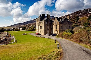 1865 in architecture - Amhuinnsuidhe Castle