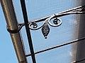 Access balcony detail, 3 Hunyadi square, 2018 Terézváros.jpg