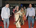Actress Waheeda Rehman on the Red Carpet at the closing ceremony of the 45th International Film Festival of India (IFFI-2014), in Panaji, Goa on November 30, 2014.jpg