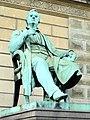 Adam Oehlenschläger by Herman Wilhelm Bissen - Copenhagen - DSC08432.JPG