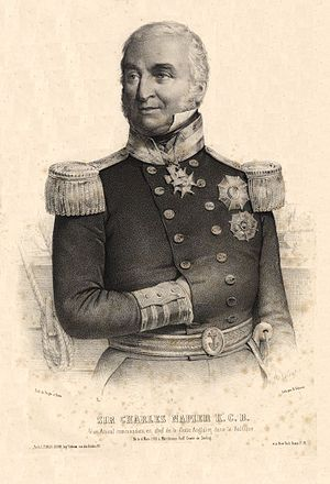 Charles Napier (Royal Navy officer) - Sir Charles Napier (1854).