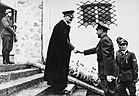 Adolf Hitler ontmoet Ante Pavelić