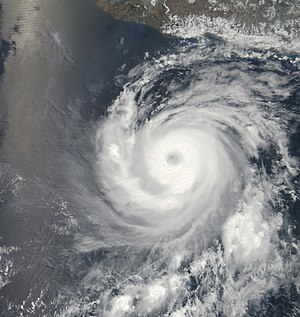 2011 Pacific hurricane season - Image: Adrian 9 June 2011 1800Z