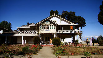 Lohaghat - Advaita Ashrama, Mayavati, a branch of the Ramakrishna Math, founded in 1899, 9 km from Lohaghat