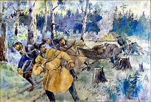 Promyshlenniki - Advancement of the Promyshlenniki to the East