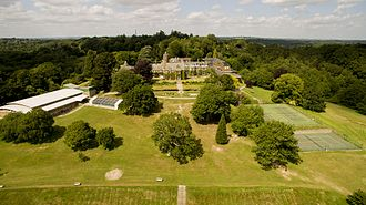 Brambletye School - The School sits in site of 140 acres of Sussex countryside overlooking the Ashdown Forest
