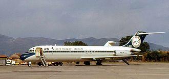 Aero Trasporti Italiani - The McDonnell Douglas DC-9 series 32 was the sole jet plane operated by Aero Trasporti Italiani.