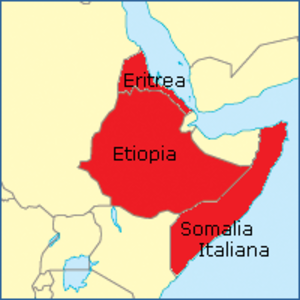 Northern front, East Africa, 1940 - ''Africa Orientale Italiana'' 1940