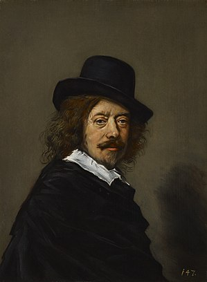 Frans Hals - Copy of a self-portrait by Frans Hals.
