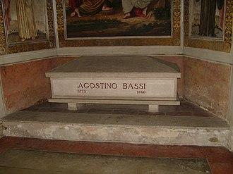 Agostino Bassi - Agostino Bassi's tomb