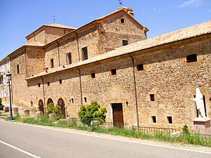 Convent - The Convent of the Conceptionists in Ágreda founded by Venerable María de Jesús (where her body rests incorrupt).