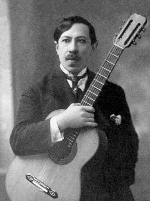 Agustín Barrios - Barrios in 1922