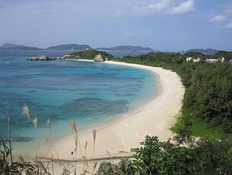 Tokashiki Island - Aharen beach on Tokashiki island