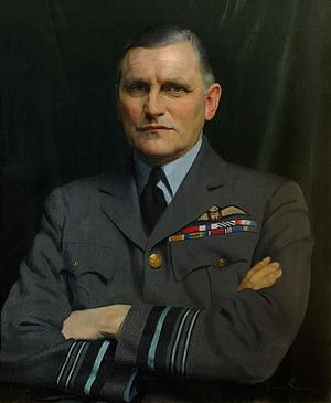 Sholto Douglas, 1st Baron Douglas of Kirtleside - Air  Marshal  Sholto Douglas in 1940 by Herbert James Gunn