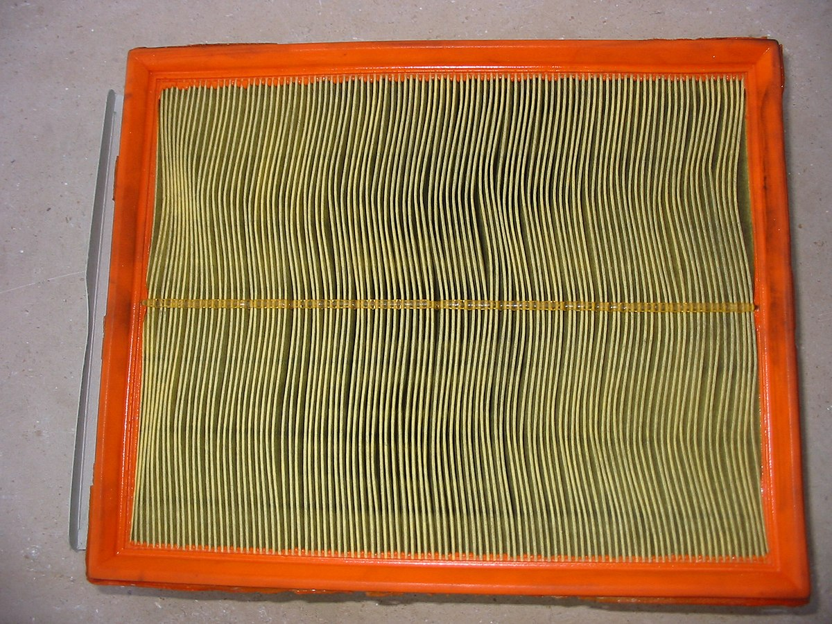 Diagram Of A Air Filter