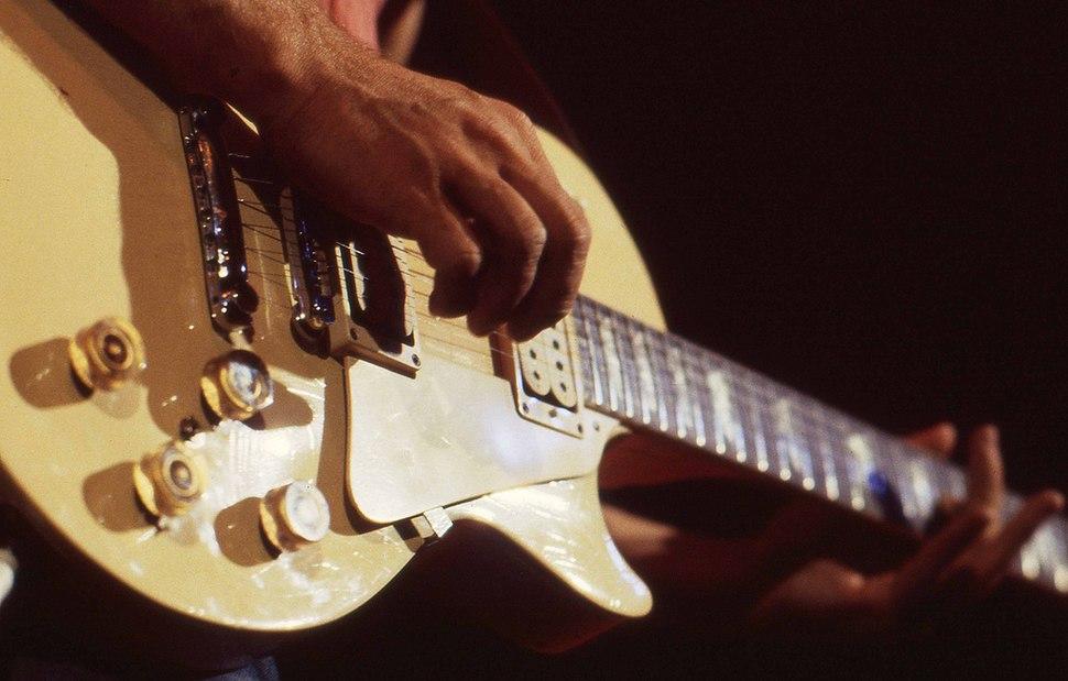 Al Di Meola guitar in Utrecht, Netherlands