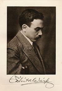 Aladar Balint - Hungarian writer - One hundred Hungarians book - Volume VIII, 1915 (1).jpg