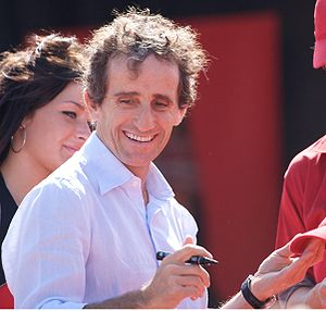 1990 FIA Formula One World Championship - Defending champion Alain Prost (pictured in 2008) was runner-up for Scuderia Ferrari.