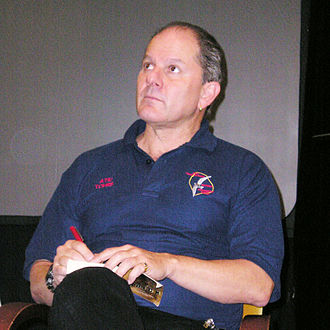 Alan Dean Foster - Foster at BayCon in 2007
