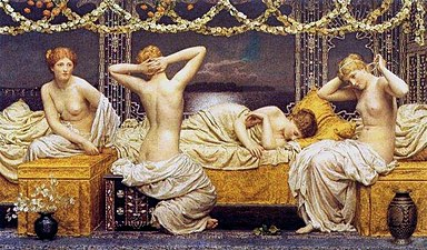 Albert Joseph Moore - A Summer Night 1890.jpg