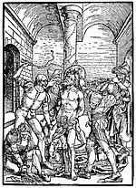 Albertina-Passion - Flagellation of Christ - Albrecht Dürer.jpg