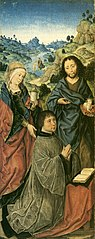 Mary Magdalene, Saint John the Baptist and a Donor