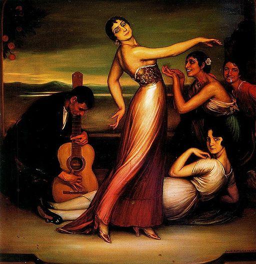 Alegrías by Julio Romero de Torres