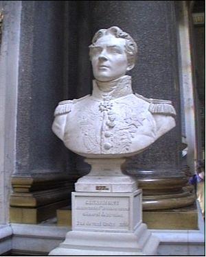 Antoine Laurent Dantan - Bust of Alexandre-Antoine Hureau de Sénarmont by Antoine Laurent Dantan, Galerie des Batailles, Palace of Versailles