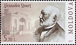 Alexandru Stuart 2017 stamp of Moldova.jpg