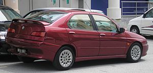 Alfa Romeo 145 and 146 - Rear view of a 146