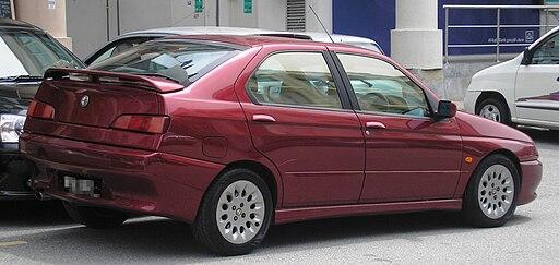 Alfa Romeo 146 (first generation) (rear), Serdang