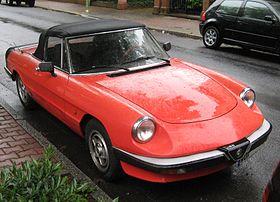 Alfa Romeo Spider  Wikipedia